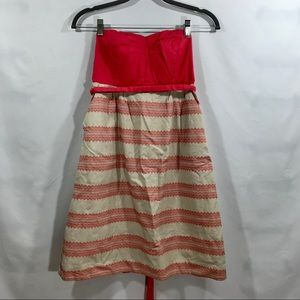 Anthropology Maeve strapless dress size: 2